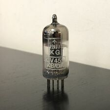12AT7 CV455 VINTAGE KB/DA MULLARD KG SQUARE GETTER NOS VALVE/TUBE