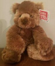 "GUND 8"" Schatzi Brown Teddy Bear Plush #15388 Stuffed Animal Soft Toy"