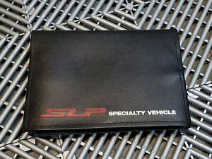 Corvette Camaro Firehawk SS Factory Original SLP Owners Manual Portfolio NOS