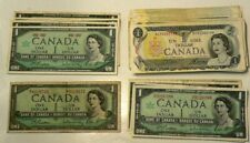 1954 to 1973 Canada $1 Dollar Lot of 50 #8017