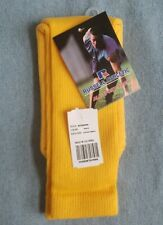 Russell Athletic All Sport Sock XS Gold Bright Yellow Soccer Socks NEW w/ Tags