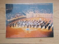 MILITARY PHOTOGRAPH - ROYAL MARINES - BAND AT DISPLAY c1976 - m844