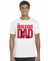 Walking Dad Fathers Day Unisex T-Shirt Dad Gift Walking Dead Inspired Husband