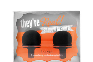"""BENEFIT """"THEY'RE REAL!"""" SHADOW BLENDER APPLICATOR DUO, BOXED"""