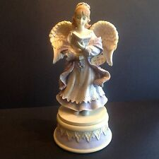 "Angels Among Us 9"" Musical Angel Figurine ""Angel of Faith"" Betty Singer BS1102"