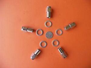 WHEEL NUTS (5) M12x1.5 CADILLAC CHEVROLET CHRYSLER DODGE OLDSMOBILE PONTIAC