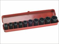 Teng - 9121 Impact Socket Set of 10 Metric 1/2in Drive