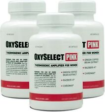 OXYSELECT PINK 3pack - For Women - Fat Burner - Weight Loss -All Natural Formula