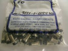 Concord Tip Jack Connector 21-9111-1-04410  Black New