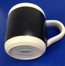 Starbucks Chalk Mug 2009 Write Create Your Own 18oz White Blackboard No Marker