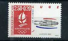 FRANCE 1991 timbre 2679a, SPORT, LUGE, JEUX OLYMPIQUES ALBERTVILLE, neuf**