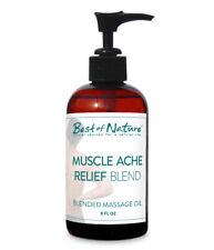 Best of Nature Muscle Ache Relief Blend Massage & Body Oil - 8 Ounces