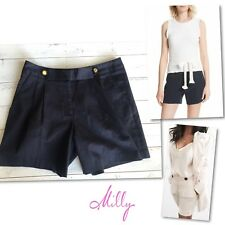 Milly Of New York Bergdorf Navy Sailor Dress Shorts Size 4