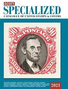 Scott Catalog 2021 U.S. Specialized
