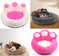 Stuffed pet dog cat bed puppy fashion mat house sleeping paw blanket rest kennel