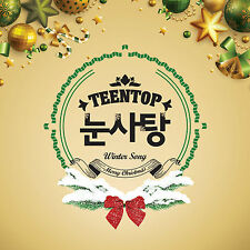 [TEEN TOP]  Winter song [Snow Kiss] 1 CD + 6 Postcards SEALED K-POP
