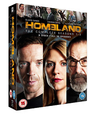HOMELAND COMPLETE COLLECTION SERIES 1-3 Blu Ray Season 1 2 3 Original UK Release