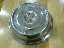 """Stainless Steel Plate Food Cover restaurant catering 27cm/ 10.5""""  lots available"""