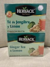 Te De Jengibre Y Limon 50 Tea Bags Ginger & Lemon Tea