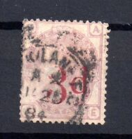 GB QV 3d on 3d lilac SG159 fine used WS15611