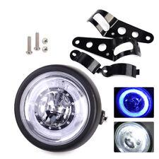 LED Retro Headlight Lamp Vintage Light fit for Motorcycle Chopper Cafe Racer