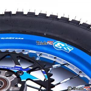 S3 Full Cover Front And Rear Wheel Rim Sticker/Decal Kit - In 6 Colourways