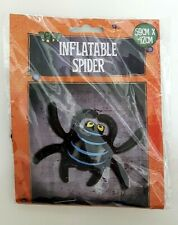 NEW Inflatable 59x42cm Black Spider Halloween decoration scary party