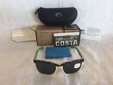 1923e2615a Costa Del Mar Anaa Polarized Sunglasses Tortoise Gray 580p Ana 105 OGP 580