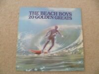 THE BEACH BOYS 20 GOLDEN GREATS VINYL LP EMTV 1  (VG+)
