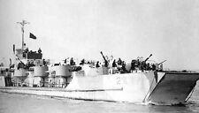 8x6 Gloss Photo ww691 Normandy Armada Landing Craft
