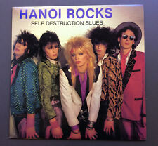 HANOI ROCKS - Self Destruction Blues LP Vinyl Record VG+ 1985 USA Pressing