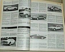 AUTOMOBIL REVUE 1978 REVUE AUTOMOBILE -  pagine 538 VEDERE FOTO