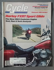 1983 NOVEMBER CYCLE MAGAZINE HARLEY FXRT SPORT GLIDE ZX750 TURBO KAWASAKI