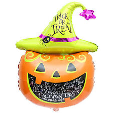Halloween Foil Balloons Decoration Pumpkin Head Decorative Scary Party Fun Vogue