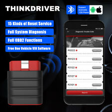 LAUNCH Thinkdriver Car Bluetooth All System ABS SRS Oil OBD2 Diagnostic Scanner