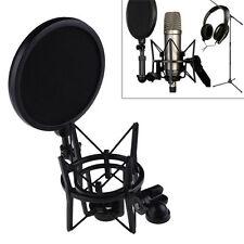 Audio Professional Condenser Microphone Mic Studio Sound Recording W Shock Mount