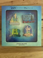 Disney D23 Fantastic Worlds Pin Set 2020 Limited Release - In Hand - NEW