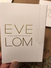 Eve Lom Muslin Cloth & Cleanser Sample (.16 oz / 5 ml) Each New