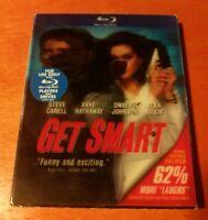 Get Smart Blu-ray  Steve Carell  Anne Hathaway   Dwayne Johnson  Alan Arkin