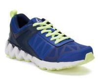 New REEBOK Zig Kick Blue / Neon Boys Running Shoes Size 6