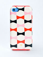 Kate Spade New York Dual Layer Hard Shell Case Cover for iPhone 5 / 5s Bow Ties