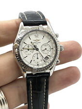 BREITLING Chrono cockpit A30012 Date White Dial Automatic Men's Watch
