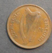 Ireland 1928  Hen  Penny Higher grade Ist Year
