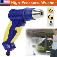 US High Pressure Power Washer Water Spray Gun Nozzle Wand Garden Hose Wand Clean