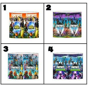 """FORTNITE Ceiling Light Shade Lampshade 8""""/20cm in 4 DESIGNS FREE POST"""