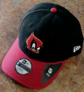 Arizona Cardinals Youth New Era 9Twenty Snapback Hat -NFL -Black, New with Tags