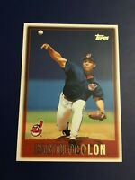 1997 Topps # 386 BARTOLO COLON Cleveland Indians Great Card Look !