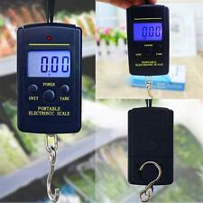40kg Electronic Hanging Fishing Luggage Pocket Portable Digital Weight Scale GA