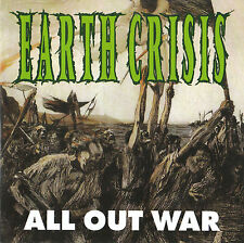 EARTH CRISIS All out war mCD (1995 Victory) New!