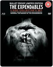 THE EXPENDABLES - Limited Edition Blu-Ray Steelbook - 3 Discs -